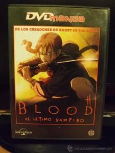 Blood, El Último Vampiro (DVD Manga)