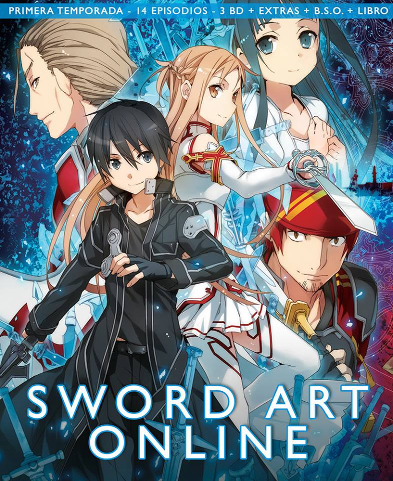 Sword Art Online, Primera Temporada Box 1
