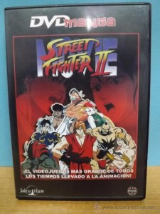 Street Fighter II Movie DVD Manga