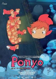 Ponyo, en el Acantilado