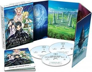 Sword Art Online, Primera Temporada Box 2 Edición coleccionista BD+BSO