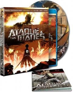 Ataque a los Titanes, Box 1 (Ed. Coleccionista)
