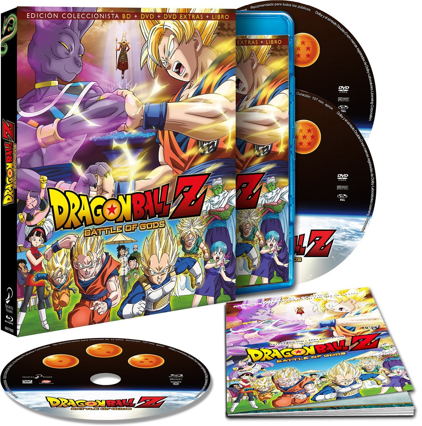 Dragon Ball Z: Battle of Gods (Edición Coleccionista)