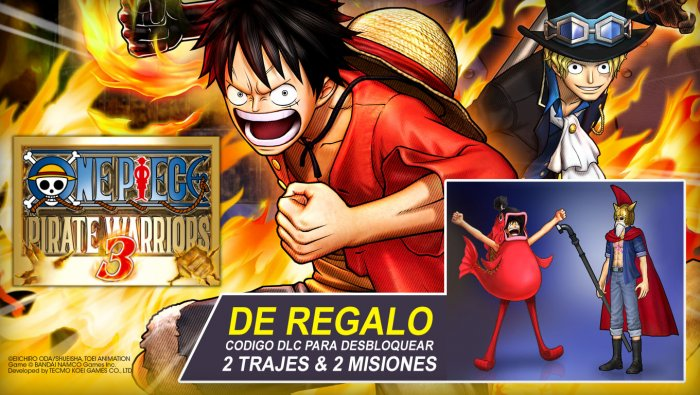 One Piece Pirate Warriors 3 DLC