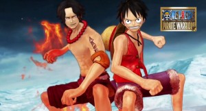 One Piece Luffy y Ace