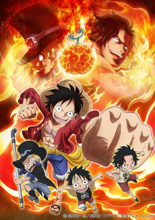 One Piece Episode of Sabo personajes