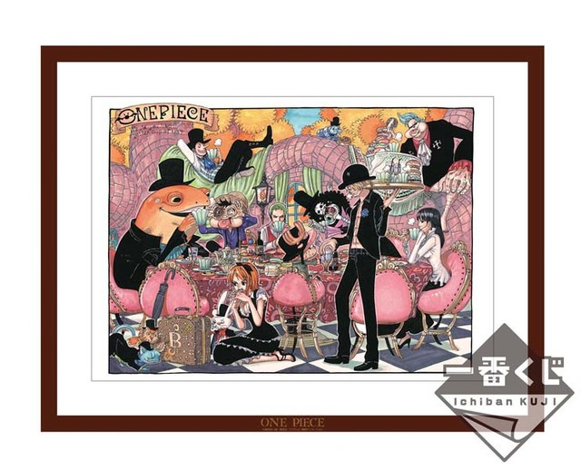 One Piece ilustración exclusiva