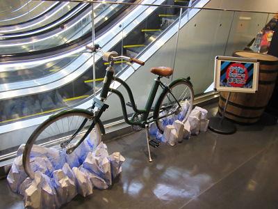Tokyo One Piece Tower bicicleta congelada