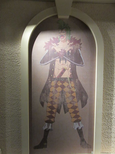 Tokyo One Piece Tower Dresrossa Bartolomeo