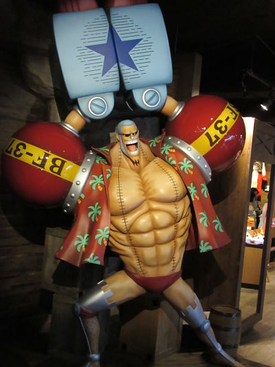 Tokyo One Piece Tower Franky Super