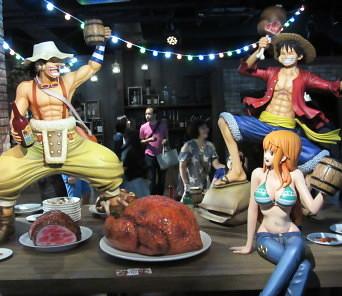 Tokyo One Piece Tower tripulación