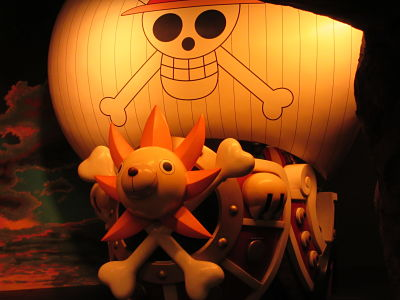 Tokyo One Piece Tower barco