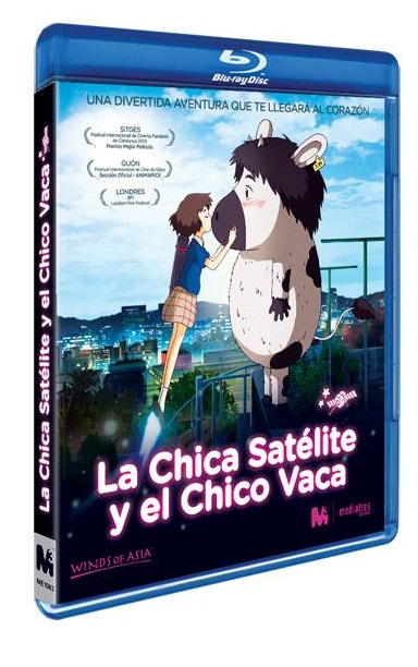 La Chica Satélite y el Chico Vaca BD