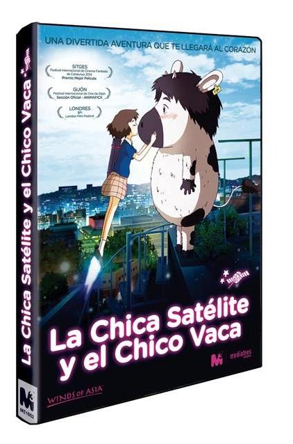 La Chica Satélite y el Chico Vaca DVD