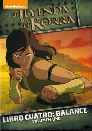 La Leyenda de Korra: Libro 4, Vol. 01