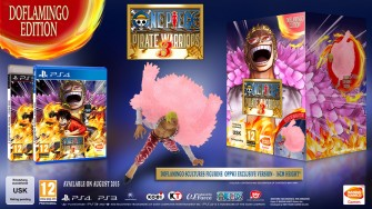 One Piece Pirate Warriors 3 coleccionista