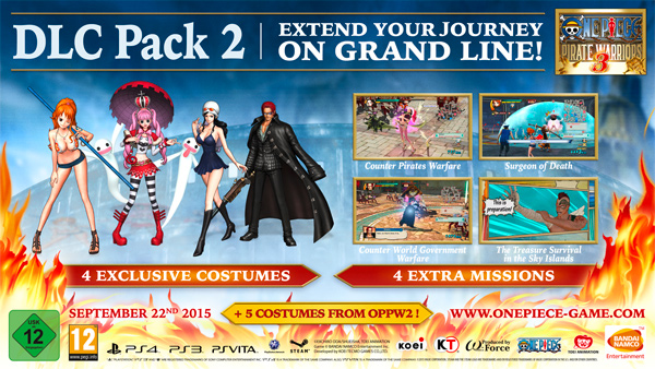 One Piece Pirate Warriors 3 dlc 1