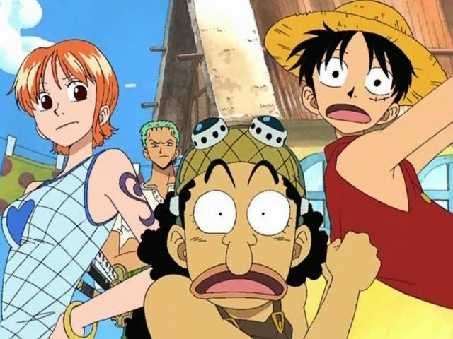 One Piece personajes