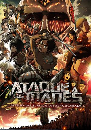 Ataque a los Titanes Película 1 DVD