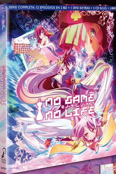 No Game No Life BD