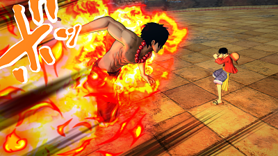 One Piece Burning Blood ataque