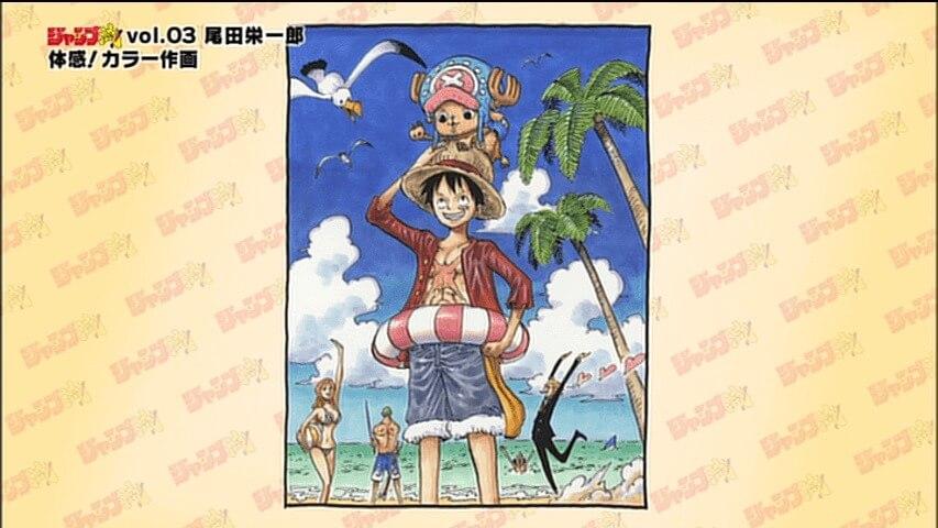One Piece ilustración Jump-Style!