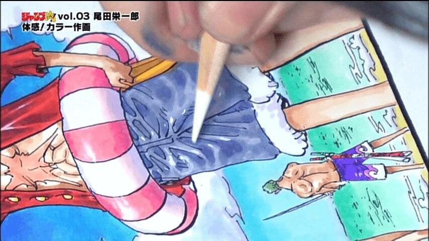 One Piece Eiichiro Oda Jump Style