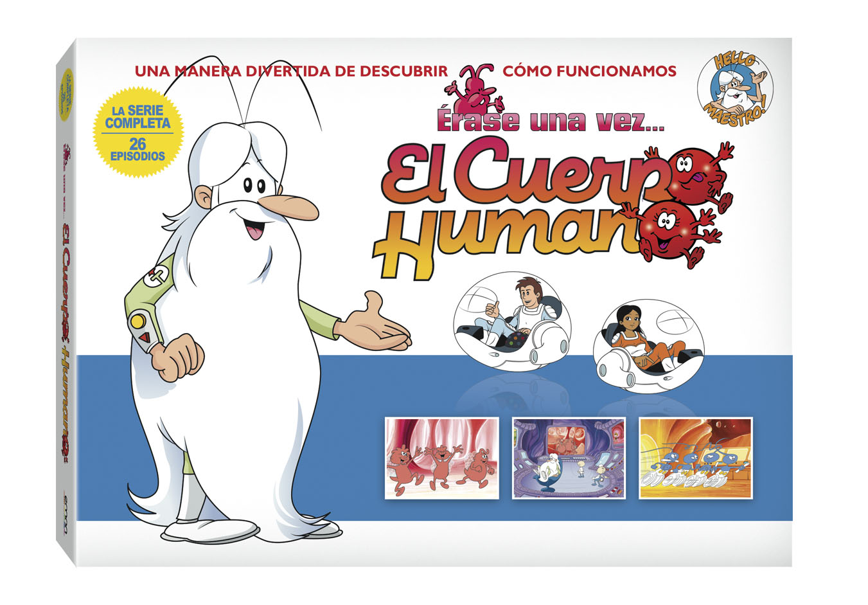 Érase una vez El Cuerpo Humano DVD Nuevo