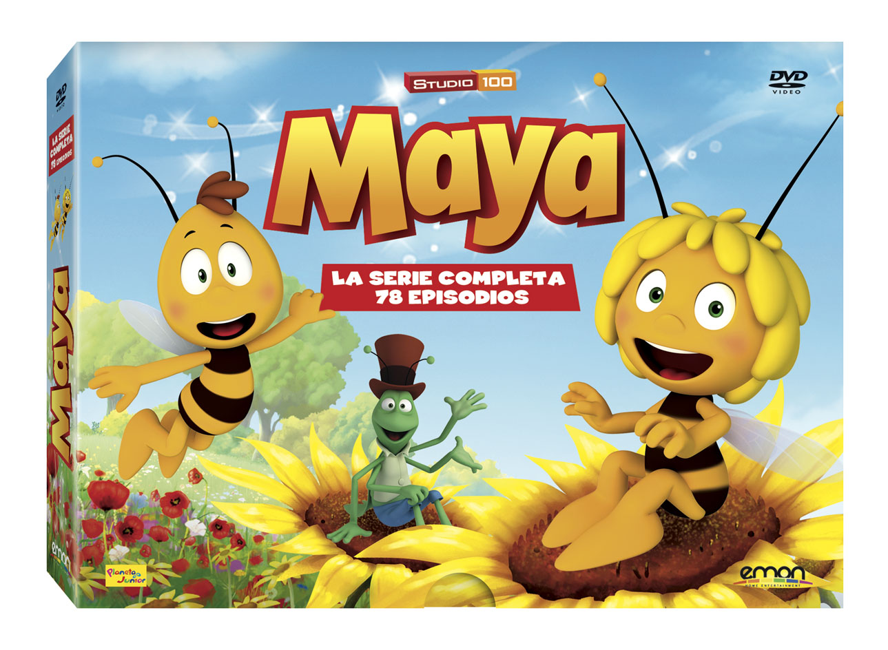 La Abeja Maya 3D DIGISTACK DVD