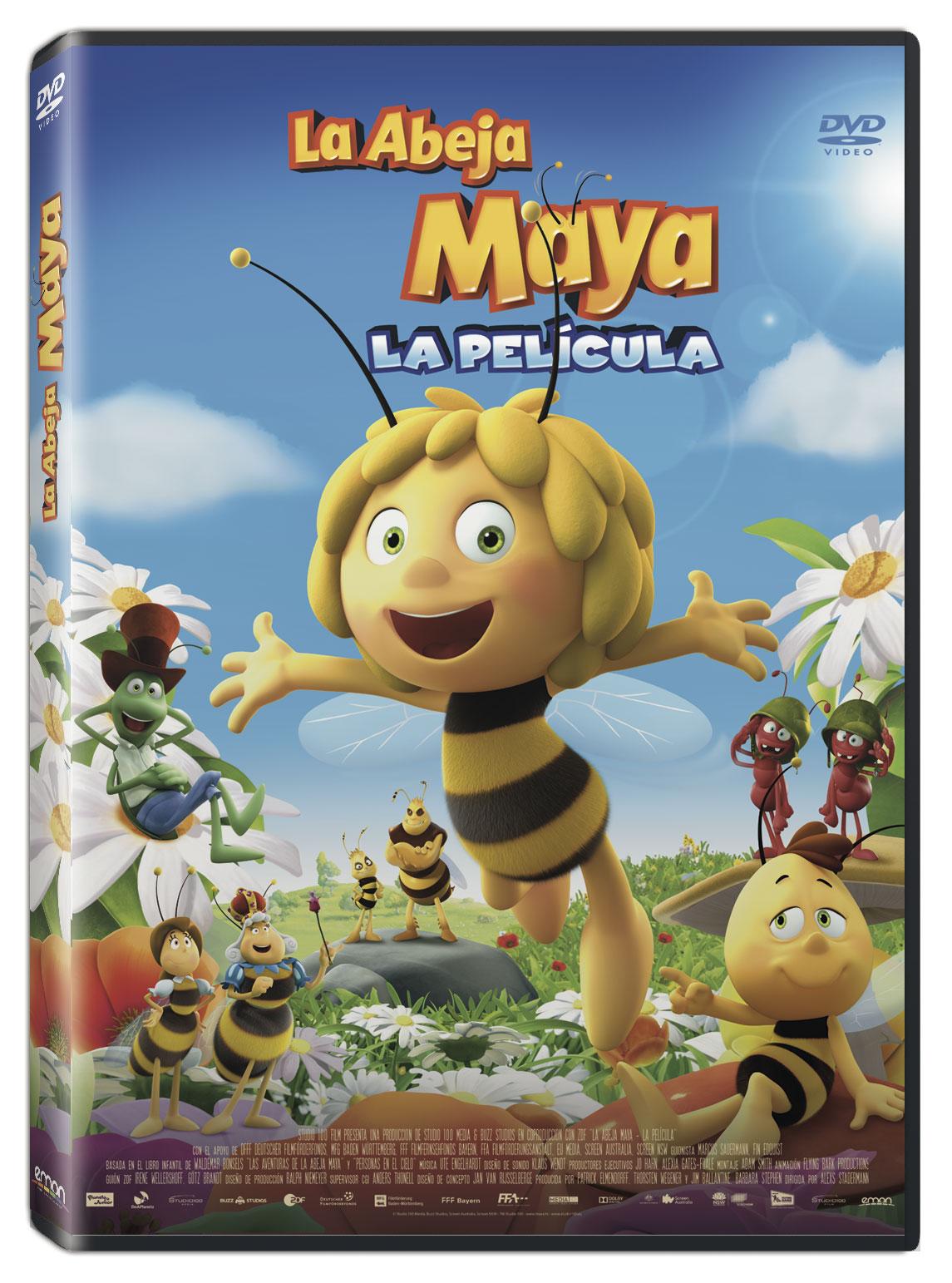 La Abeja Maya 3D La Película DVD Nueva Ed.