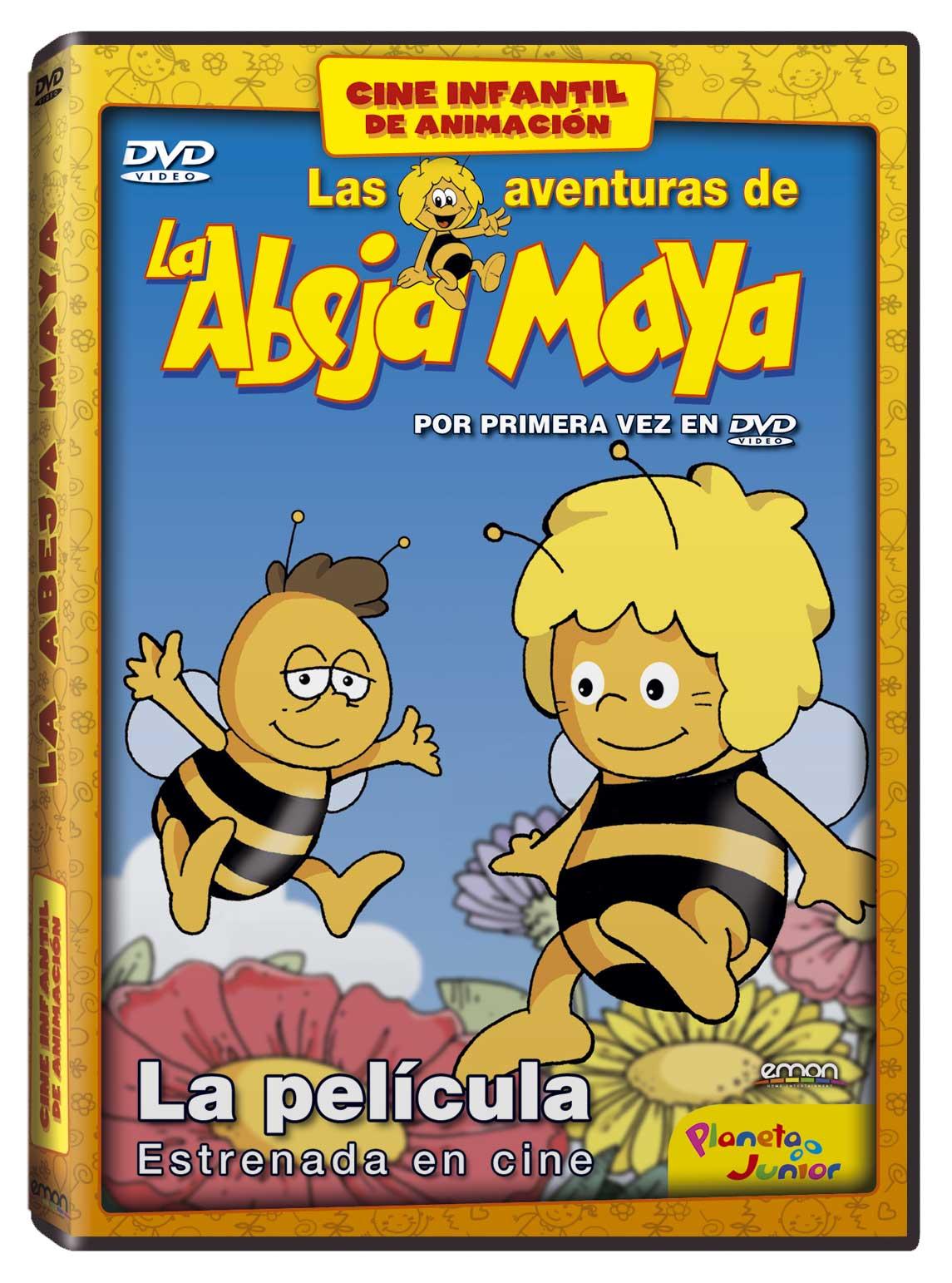 La Abeja Maya La Película DVD ANIM