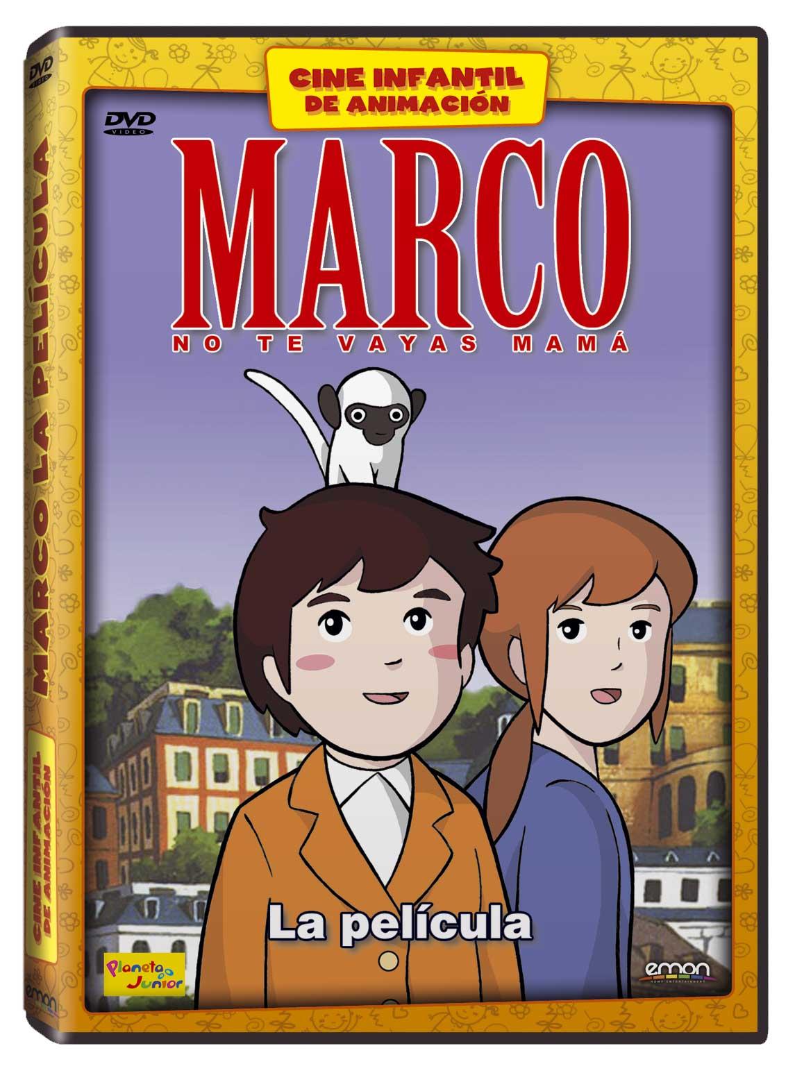 Marco La Película DVD ANIM