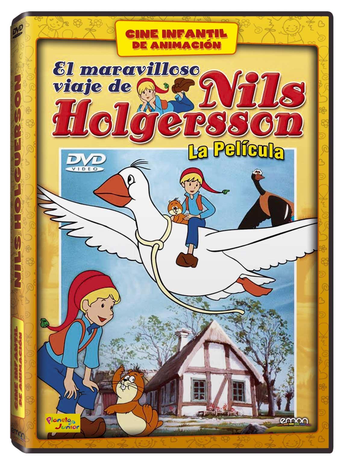 Nils Holgersson La Película DVD ANIM