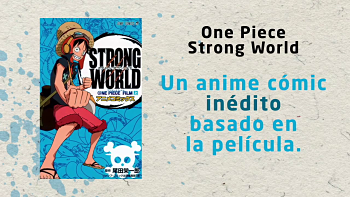 One Piece Strong World manga