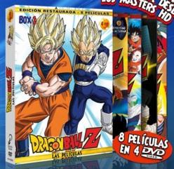Dragon Ball Z Películas Pack 01 DVD