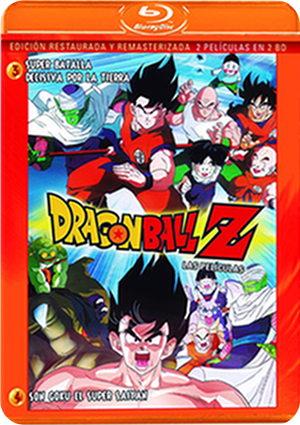 Dragon Ball Z Pelis 3 y 4 BD