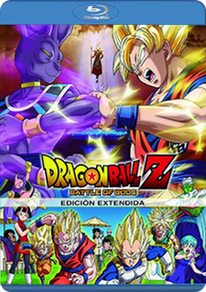 Dragon Ball Z battle of Gods Eco BD