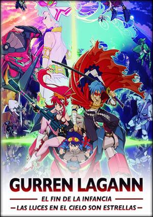 Gurren Lagann Películas Pack DVD