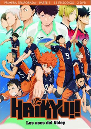 Haikyu 1 DVD