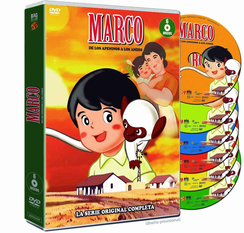 Marco Serie Completa DVD BP