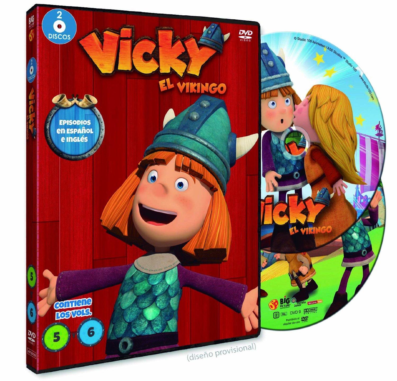 Vicky el Vikingo 3D DVD 5 y 6