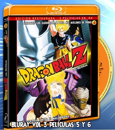 Dragon Ball Z Pelis 5 y 6 BD