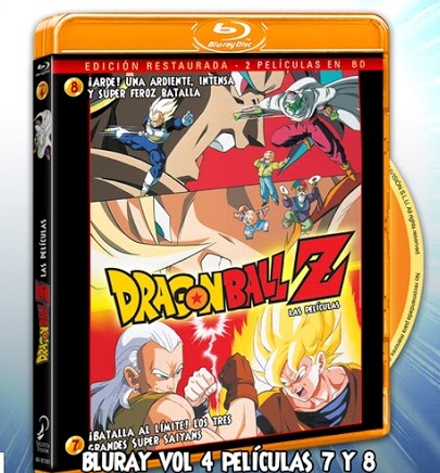 Dragon Ball Z Pelis 7 y 8 BD