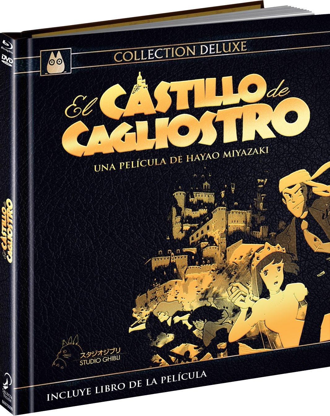 Lupin El Castillo de Cagliostro Combo BD DVD Digibook