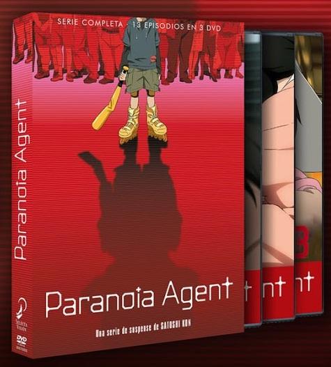Paranoia Agent DVD