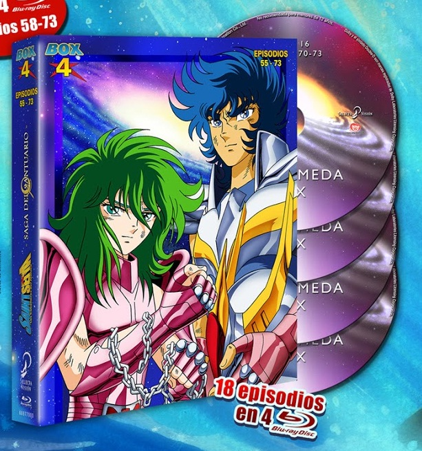 Saint Seiya Box 4 EC BD