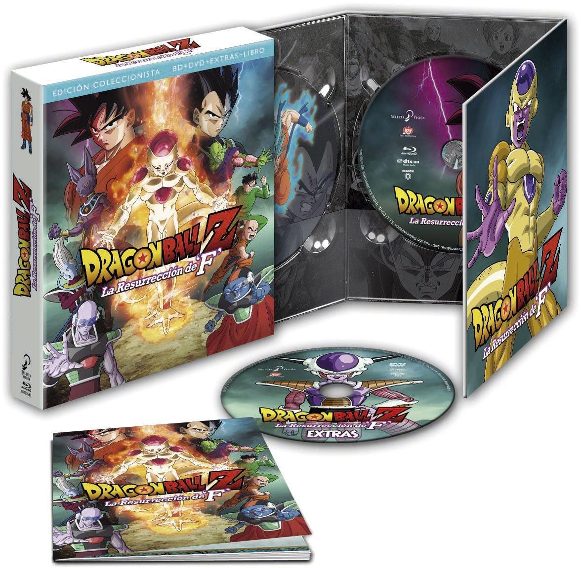 Dragon Ball Z La Resurreción de F BD Coleccionistas
