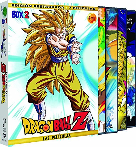 Dragon Ball Z: Las Películas. Box 02