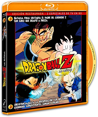 Dragon Ball Z Tv Especiales 1 y 2 BD
