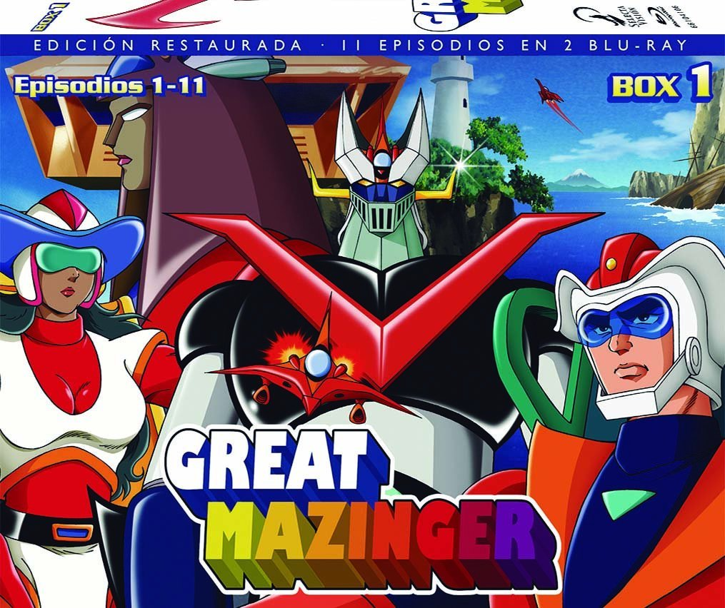 Great Mazinger, Box 01